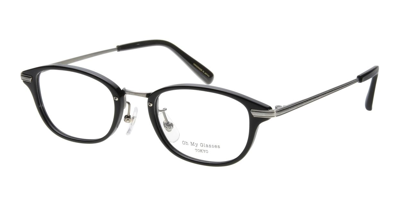 Oh My Glasses TOKYO Scott omg-091-4-21-49 [黒縁/鯖江産/スクエア]