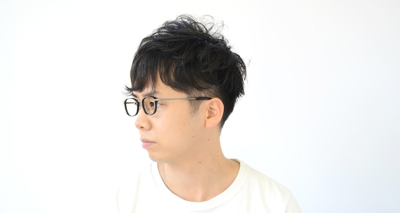 Oh My Glasses TOKYO Scott omg-091-4-21-49 [黒縁/鯖江産/スクエア]  6