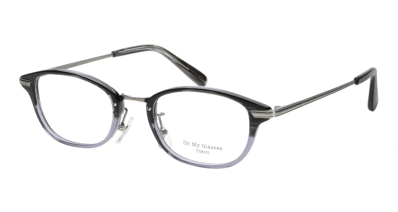Oh My Glasses TOKYO Scott omg-091-31-21-49 [黒縁/鯖江産/スクエア]
