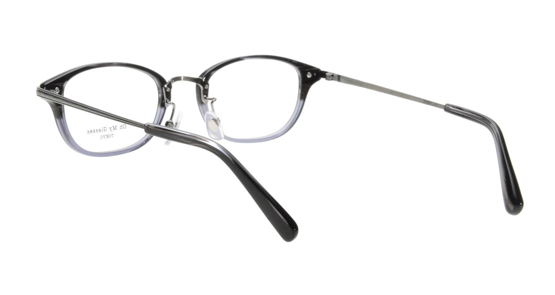 Oh My Glasses TOKYO Scott omg-091-31-21-49 [黒縁/鯖江産/スクエア]  2