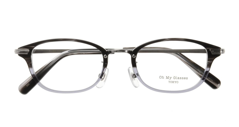 Oh My Glasses TOKYO Scott omg-091-31-21-49 [黒縁/鯖江産/スクエア]  3