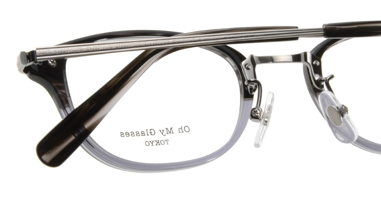 Oh My Glasses TOKYO Scott omg-091-31-21-49 [黒縁/鯖江産/スクエア]  4
