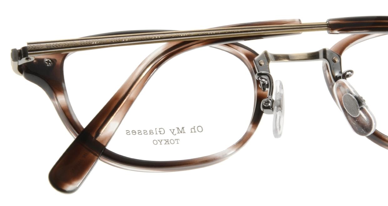 Oh My Glasses TOKYO Scott omg-091-18-12-49 [鯖江産/スクエア/茶色]  4