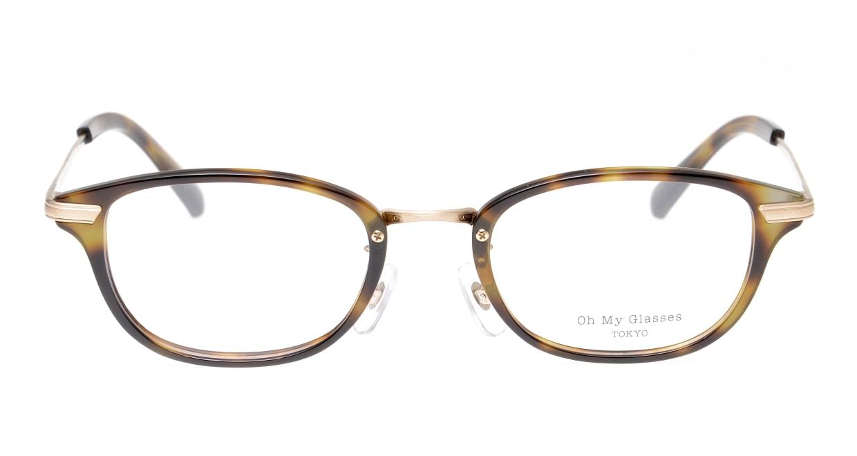 Oh My Glasses TOKYO Scott omg-091-24-15-49 [鯖江産/スクエア/べっ甲柄]