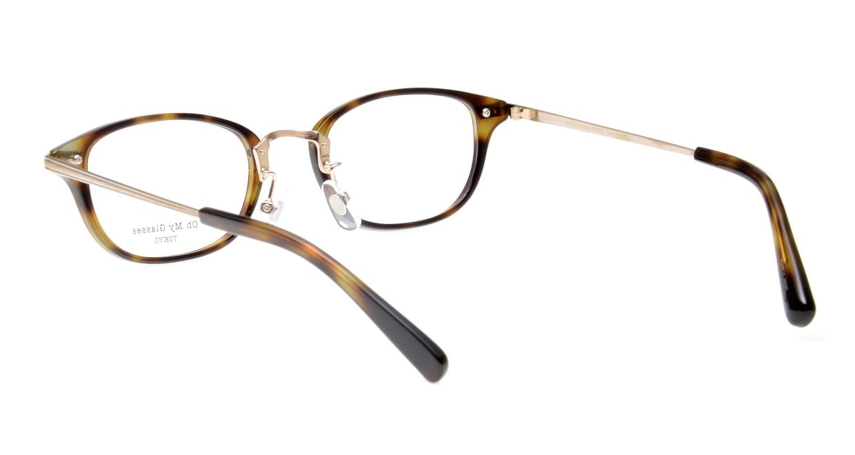 Oh My Glasses TOKYO Scott omg-091-24-15-49 [鯖江産/スクエア/べっ甲柄]  3
