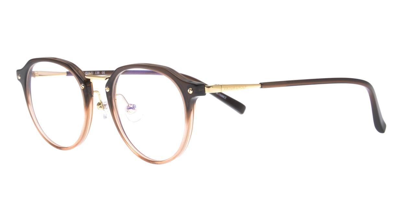 ヴィクター&ロルフ 70-0203-06 [丸メガネ/茶色]  1