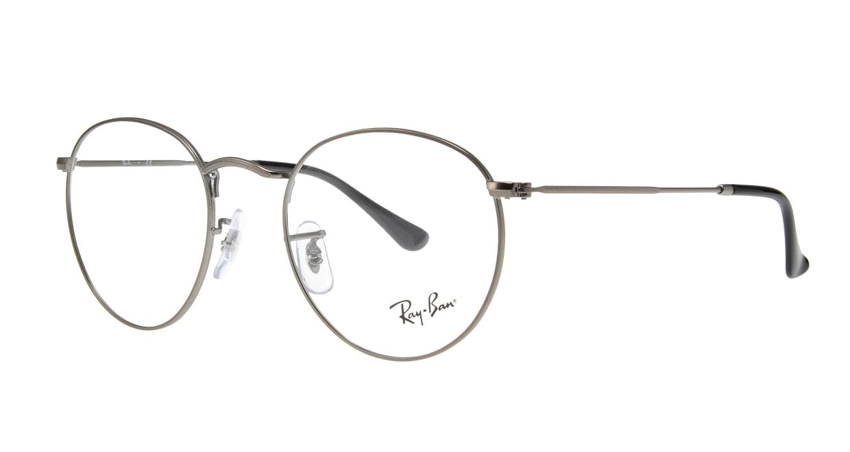 レイバン ROUND FLECK RX3447V-2620-50 [メタル/丸メガネ/グレー]  1