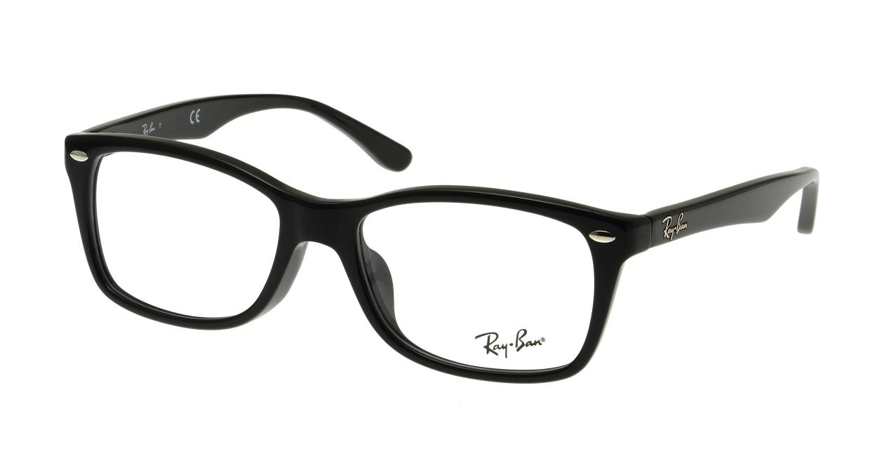 レイバン RX5228F-2000-53 [黒縁/ウェリントン]