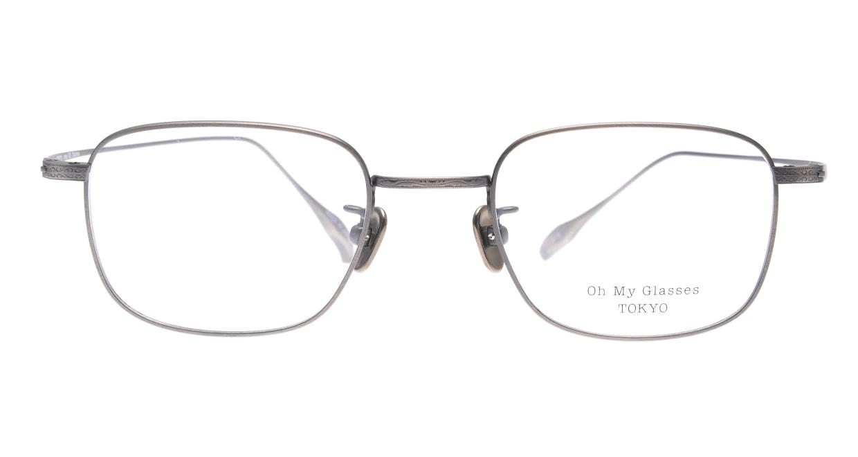 Oh My Glasses TOKYO Stanley omg-129-ATS-48 [メタル/鯖江産/スクエア/シルバー]