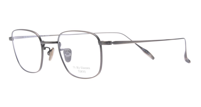 Oh My Glasses TOKYO Stanley omg-129-ATS-48 [メタル/鯖江産/スクエア/シルバー]  1