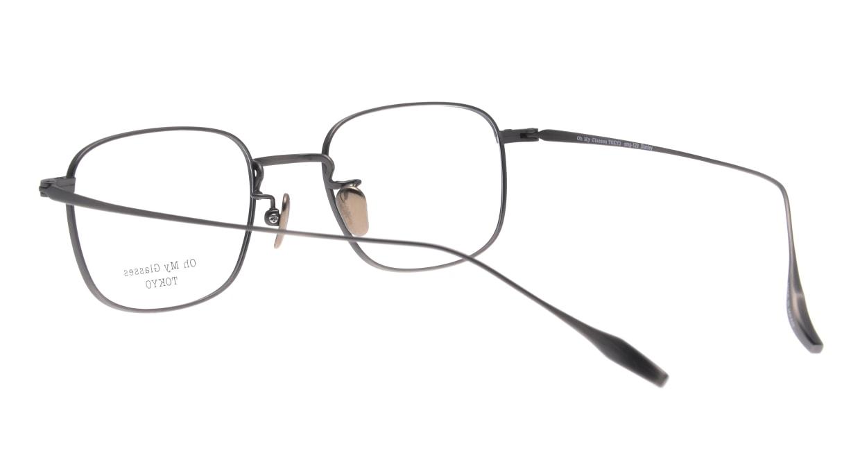Oh My Glasses TOKYO Stanley omg-129-ATS-48 [メタル/鯖江産/スクエア/シルバー]  3