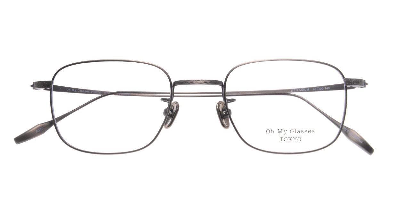 Oh My Glasses TOKYO Stanley omg-129-ATS-48 [メタル/鯖江産/スクエア/シルバー]  4