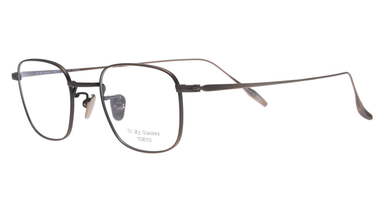 Oh My Glasses TOKYO Stanley omg-129-ATBR-48 [メタル/鯖江産/スクエア/ゴールド]  1
