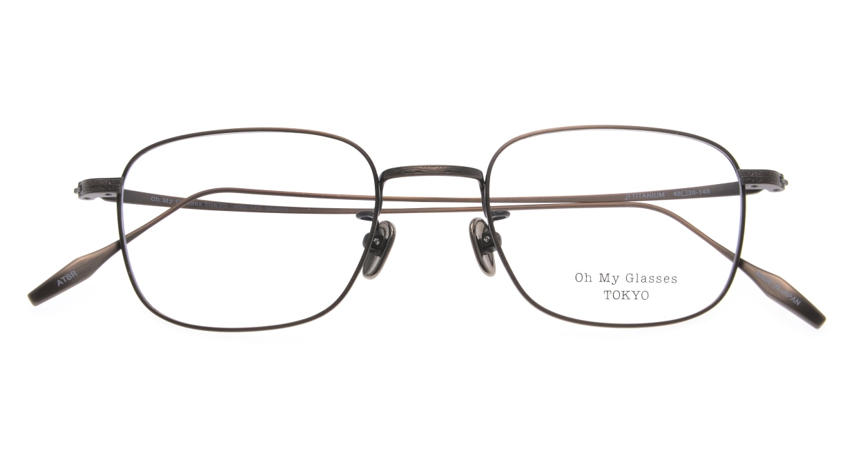 Oh My Glasses TOKYO Stanley omg-129-ATBR-48 [メタル/鯖江産/スクエア/ゴールド]  4