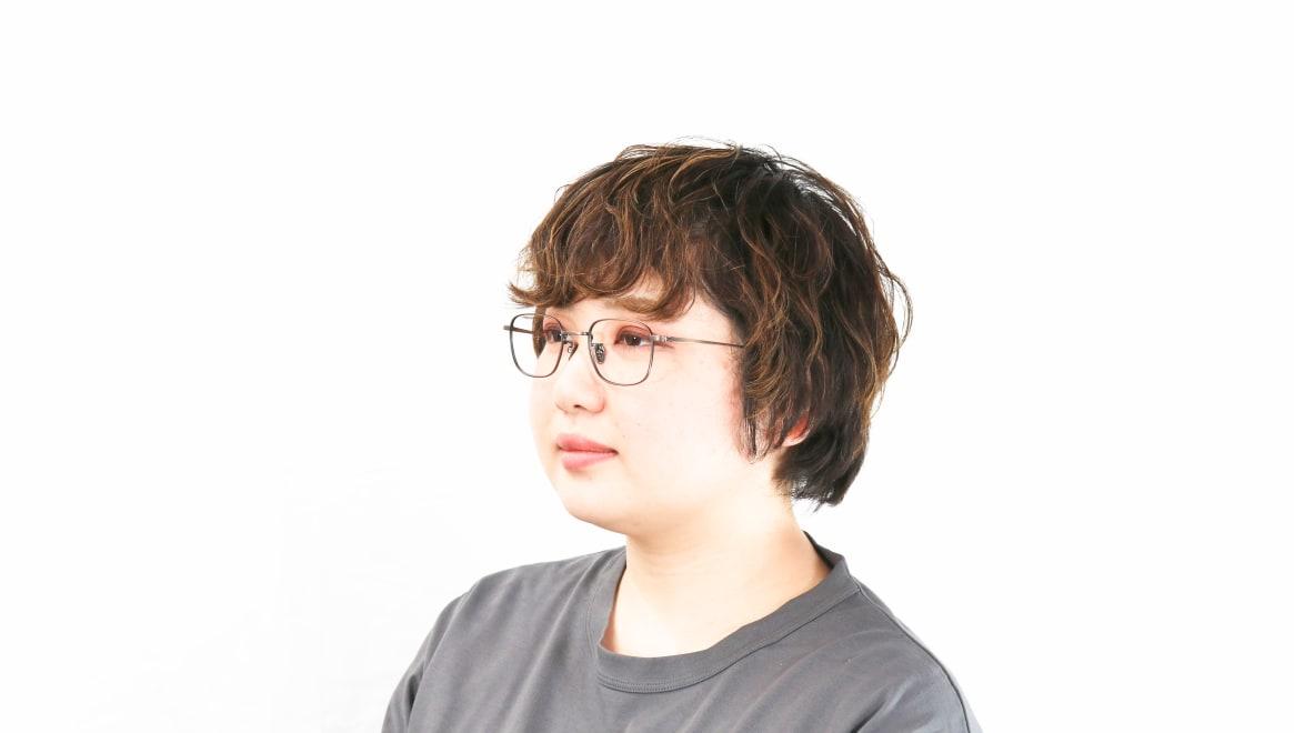 Oh My Glasses TOKYO Stanley omg-129-ATBR-48 [メタル/鯖江産/スクエア/ゴールド]  8