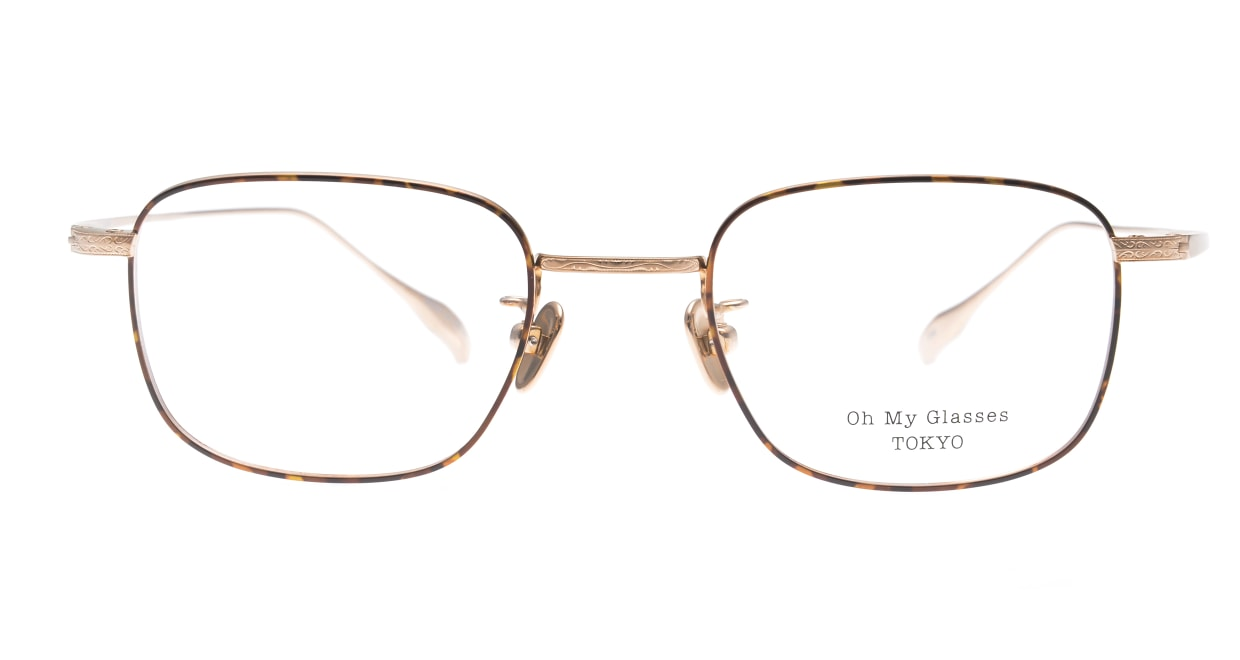 Oh My Glasses TOKYO Stanley omg-129-DM-48 [メタル/鯖江産/スクエア/茶色]