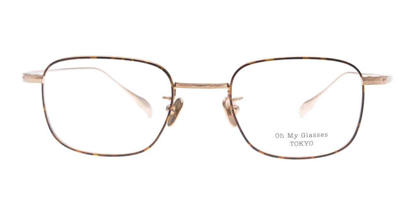 Oh My Glasses TOKYOomg-129-DM-48 [メタル/鯖江産/スクエア/茶色]