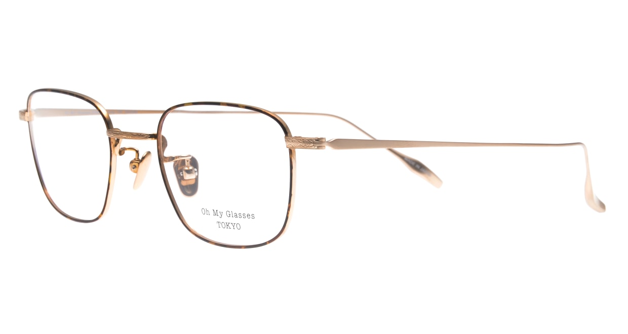 Oh My Glasses TOKYO Stanley omg-129-DM-48 [メタル/鯖江産/スクエア/茶色]  1