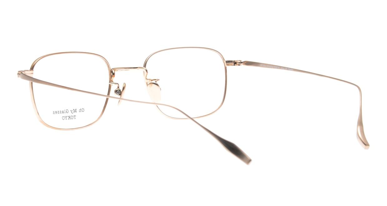 Oh My Glasses TOKYOomg-129-DM-48 [メタル/鯖江産/スクエア/茶色]  3