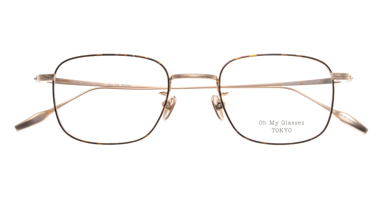Oh My Glasses TOKYO Stanley omg-129-DM-48 [メタル/鯖江産/スクエア/茶色]  4