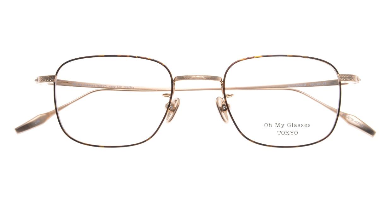 Oh My Glasses TOKYOomg-129-DM-48 [メタル/鯖江産/スクエア/茶色]  4
