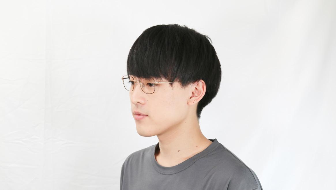 Oh My Glasses TOKYOomg-129-DM-48 [メタル/鯖江産/スクエア/茶色]  6