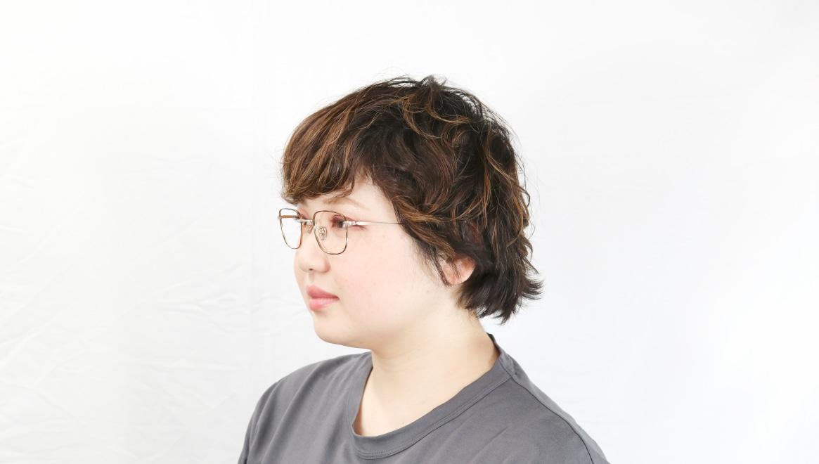 Oh My Glasses TOKYOomg-129-DM-48 [メタル/鯖江産/スクエア/茶色]  8