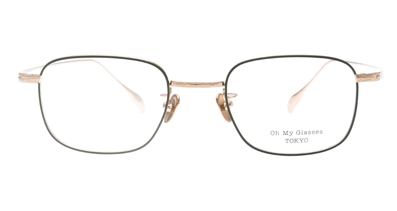 Oh My Glasses TOKYO Stanley omg-129-GRN-48 [メタル/鯖江産/スクエア/緑]