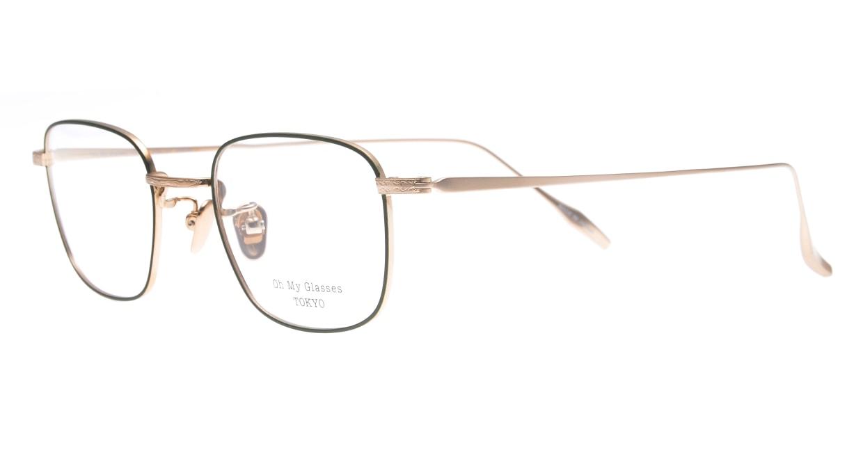 Oh My Glasses TOKYO Stanley omg-129-GRN-48 [メタル/鯖江産/スクエア/緑]  1