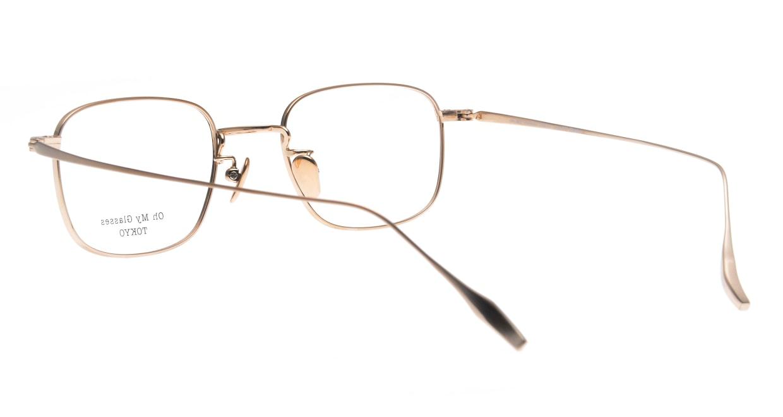 Oh My Glasses TOKYO Stanley omg-129-GRN-48 [メタル/鯖江産/スクエア/緑]  3