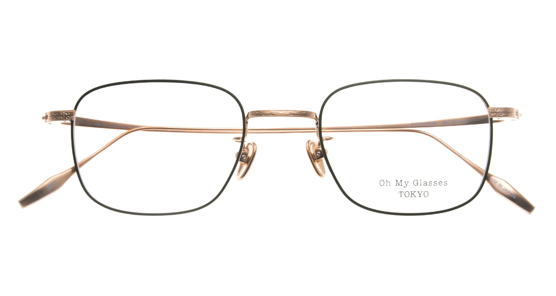 Oh My Glasses TOKYO Stanley omg-129-GRN-48 [メタル/鯖江産/スクエア/緑]  4