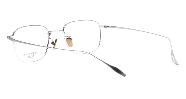 Oh My Glasses TOKYO Stanley omg-129-NV-48 [メタル/鯖江産/スクエア/青]  3