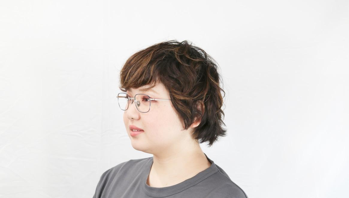 Oh My Glasses TOKYO Stanley omg-129-NV-48 [メタル/鯖江産/スクエア/青]  8