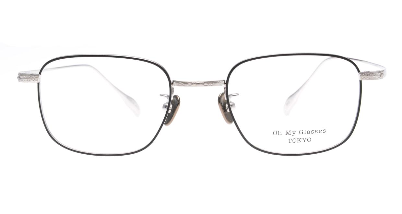 Oh My Glasses TOKYO Stanley omg-129-BKS-48 [メタル/鯖江産/スクエア]