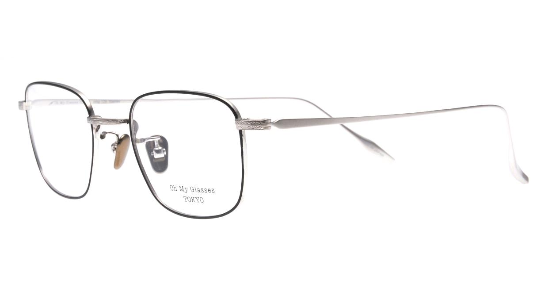 Oh My Glasses TOKYO Stanley omg-129-BKS-48 [メタル/鯖江産/スクエア]  1