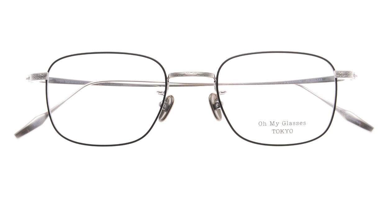 Oh My Glasses TOKYO Stanley omg-129-BKS-48 [メタル/鯖江産/スクエア]  4