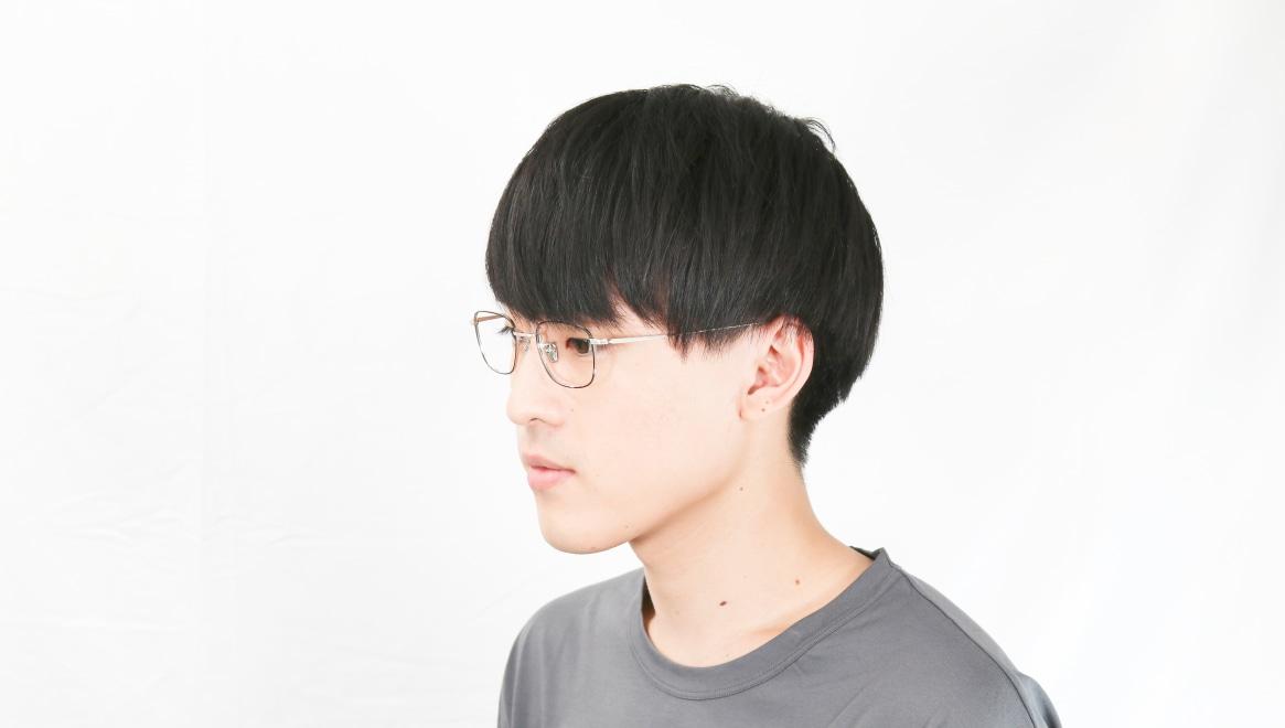 Oh My Glasses TOKYO Stanley omg-129-BKS-48 [メタル/鯖江産/スクエア]  6