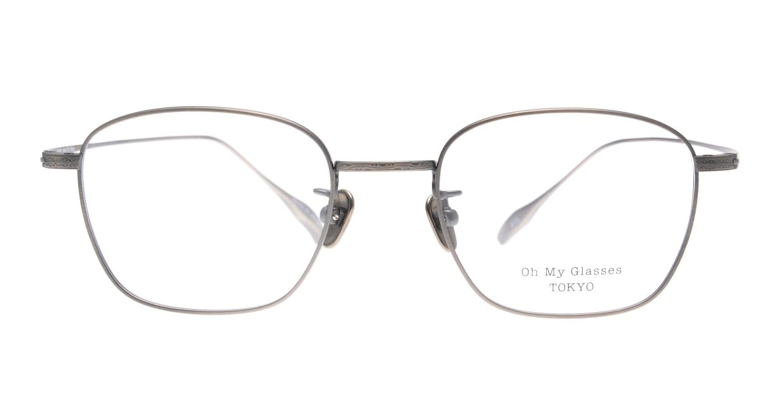 Oh My Glasses TOKYO Alice omg-130-ATS-49 [メタル/鯖江産/ウェリントン/シルバー]