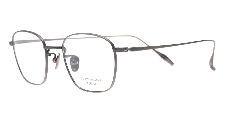 Oh My Glasses TOKYO Alice omg-130-ATS-49 [メタル/鯖江産/ウェリントン/シルバー]  1