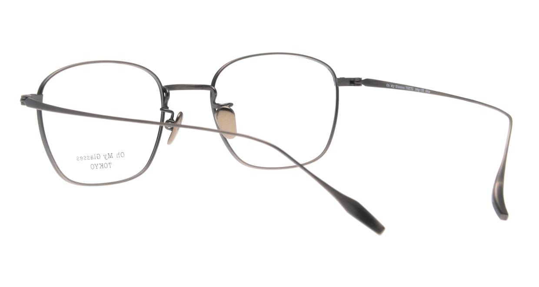 Oh My Glasses TOKYO Alice omg-130-ATS-49 [メタル/鯖江産/ウェリントン/シルバー]  3