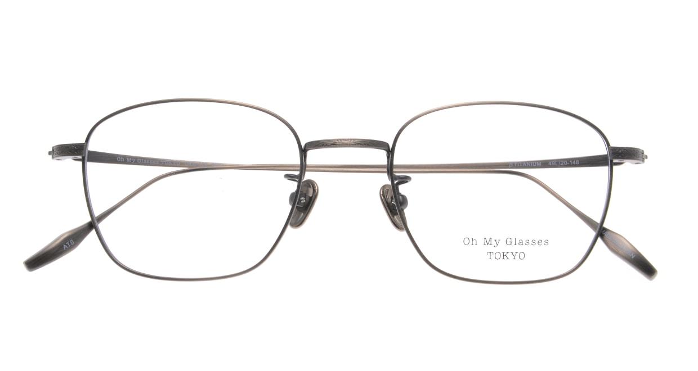 Oh My Glasses TOKYO Alice omg-130-ATS-49 [メタル/鯖江産/ウェリントン/シルバー]  4