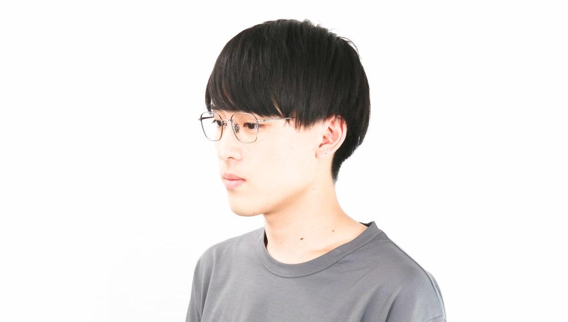 Oh My Glasses TOKYO Alice omg-130-ATS-49 [メタル/鯖江産/ウェリントン/シルバー]  6