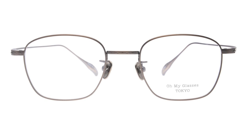 Oh My Glasses TOKYO Alice omg-130 -ATBR-49 [メタル/鯖江産/ウェリントン/ゴールド]