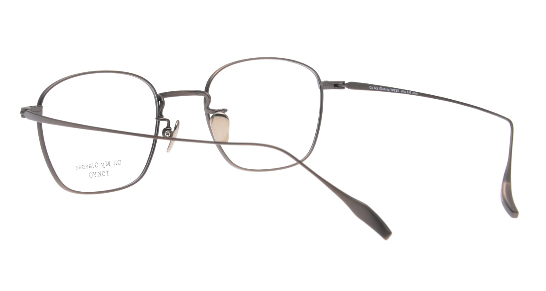 Oh My Glasses TOKYO Alice omg-130 -ATBR-49 [メタル/鯖江産/ウェリントン/ゴールド]  3
