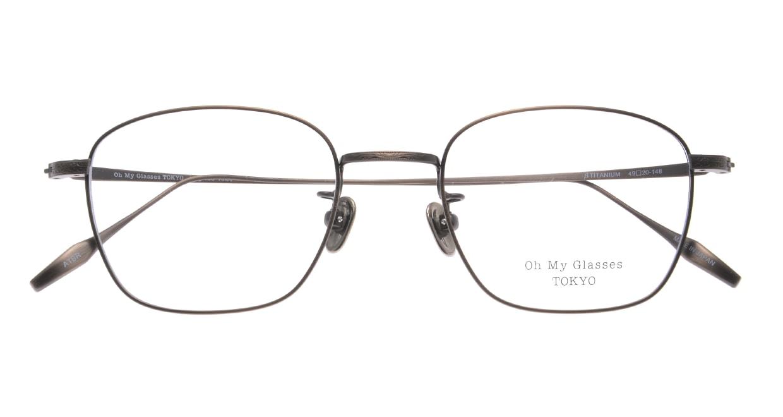 Oh My Glasses TOKYO Alice omg-130 -ATBR-49 [メタル/鯖江産/ウェリントン/ゴールド]  4