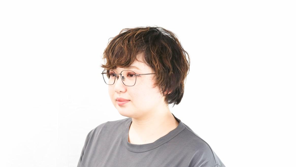 Oh My Glasses TOKYO Alice omg-130 -ATBR-49 [メタル/鯖江産/ウェリントン/ゴールド]  8