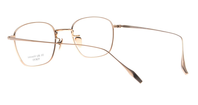 Oh My Glasses TOKYO Alice omg-130-DM-49 [メタル/鯖江産/ウェリントン/茶色]  3