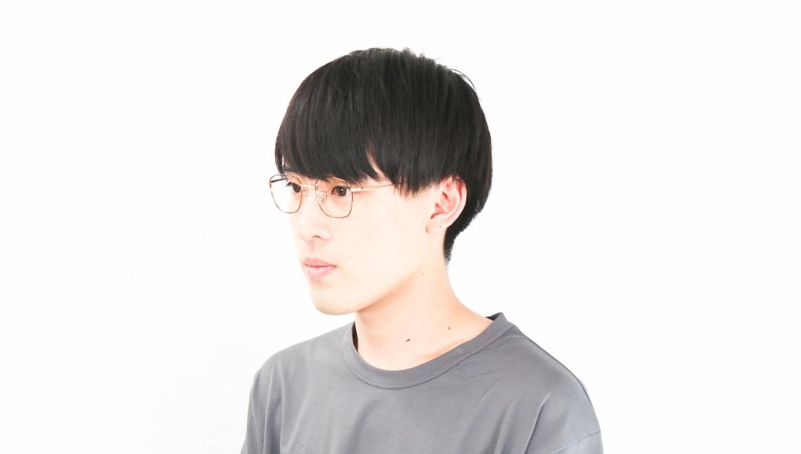 Oh My Glasses TOKYO Alice omg-130-DM-49 [メタル/鯖江産/ウェリントン/茶色]  6