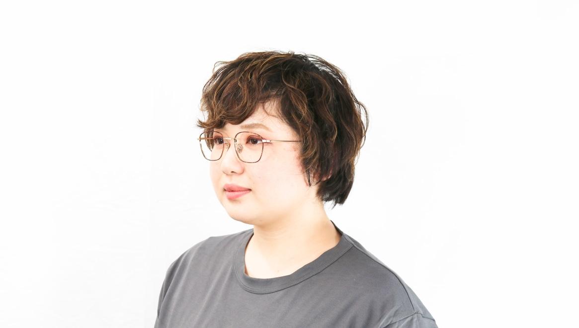 Oh My Glasses TOKYO Alice omg-130-DM-49 [メタル/鯖江産/ウェリントン/茶色]  8