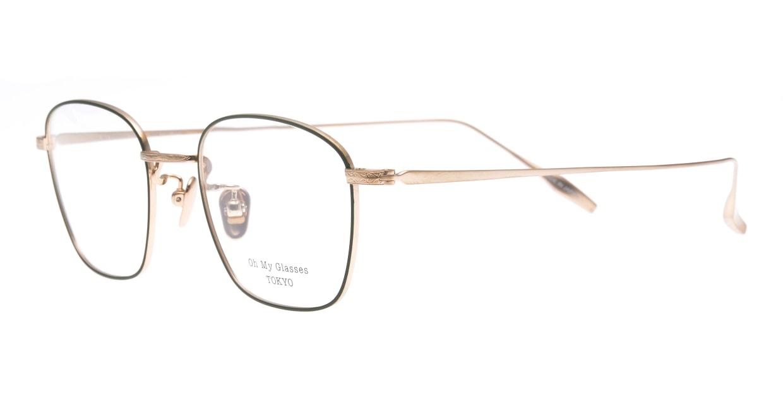 Oh My Glasses TOKYO Alice omg-130 -GR-49 [メタル/鯖江産/ウェリントン/緑]  1